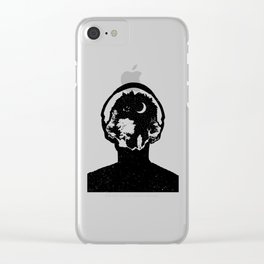 Sounds of the Night Clear iPhone Case