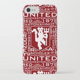 MixWords: Red Devil iPhone Case