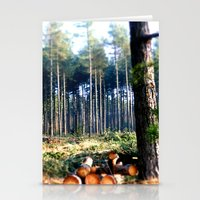 woods Stationery Cards featuring Woods by madbiffymorghulis