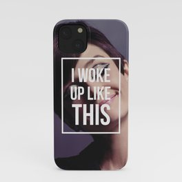 AUDREY HEPBURN | I Woke Up Like This iPhone Case