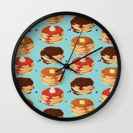 Pancake Sunday Wall Clock