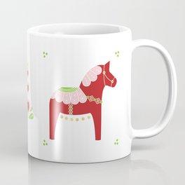 Valentine Dala Horse Coffee Mug