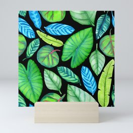 Tropical Pattern Mini Art Print
