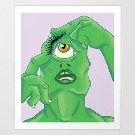Monster Lash Art Print