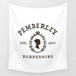 Pemberley 1813 - Pride And Prejudice - Jane Austen Wall Tapestry