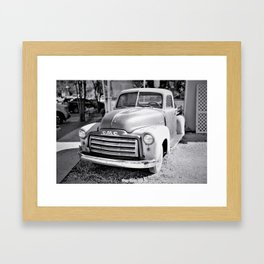 Vintage View GMC Framed Art Print