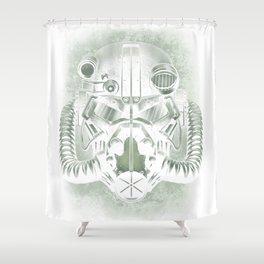 War never changes Shower Curtain