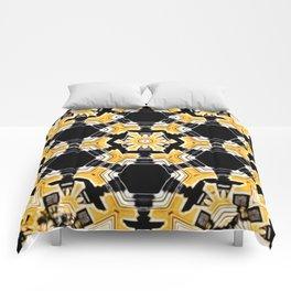 Sun Beam Abstract Comforters