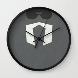 Hulkster ver.2 Wall Clock