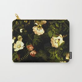 Floral Night III Carry-All Pouch