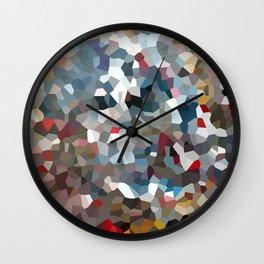 Happy New Year Moon Love Wall Clock