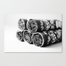 One Shot. One Kill. OSOK Cigar (2013 Shot for release party) Canvas Print