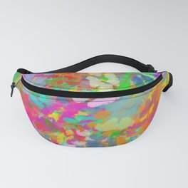 Kaleidoscope Abstract Fanny Pack