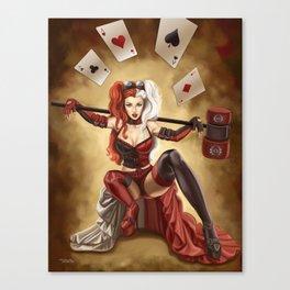harlequinn Canvas Print