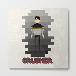 lady crusher Metal Print