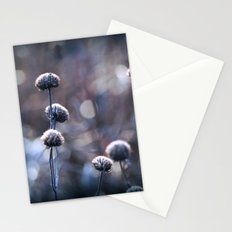 Copper Field Evening Frost Stationery Cards