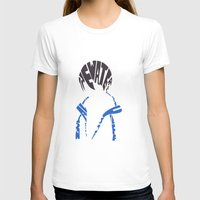 iwatobi T-shirts featuring haruka free  by Rebecca McGoran