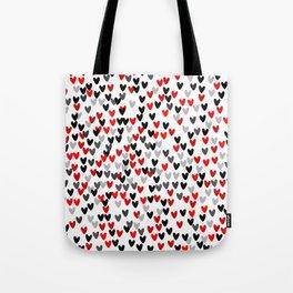 Cute Hearts Tote Bag
