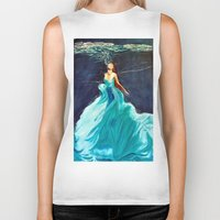 ariel Biker Tanks featuring Ariel by Terrel