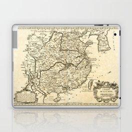 L'Empire de la Chine, Map of China (1764) Laptop & iPad Skin