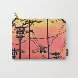 Industry poles sunset Carry-All Pouch