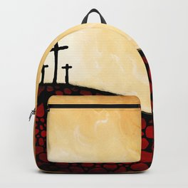 Forgiven - Christian Art By Sharon Cummings Backpack