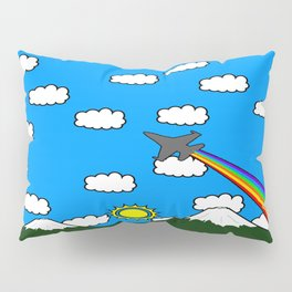 Mountains and Rainbow Pillow Sham