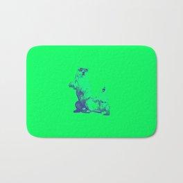 Ours Republique green Bath Mat