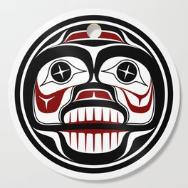 Northwest Pacific coast Haida Weeping skull Cutting Board