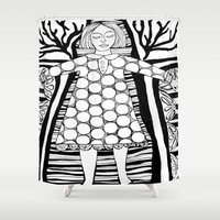 dorothy Shower Curtains featuring Dorothy by Indigo Images