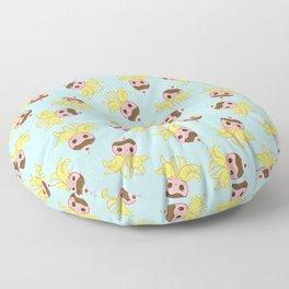 Strawberry Banana Split Octopus Floor Pillow