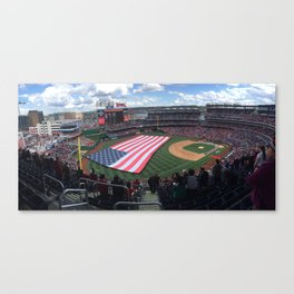 Opening Day 2016; Nationals Park Canvas Print