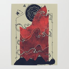 Northern Nightsky Poster