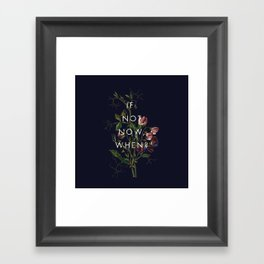 The Theory of Self-Actualization III Framed Art Print