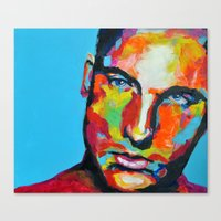 model Canvas Prints featuring Model by Ilya Konyukhov
