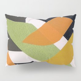 Abstract multicolor ing Pillow Sham