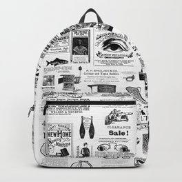 Vintage Victorian Ads Backpack