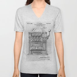 Coin controlled Unisex V-Neck