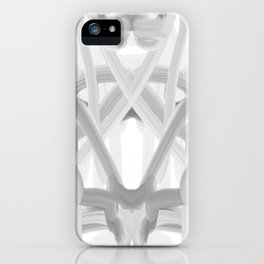 art, only two colors, circles, abstract, young design, forever 16, crazy design iPhone Case
