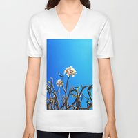 merida V-neck T-shirts featuring merida tree by Alison Kim