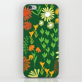 lovely dasiy garden iPhone Skin