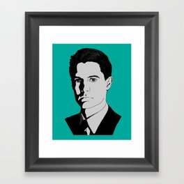 Agent Cooper Framed Art Print