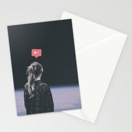 Dead in your head Stationery Cards