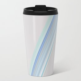 Decorative Blue Teal Design Travel Mug