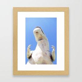 Cabazon Dinosaurs Framed Art Print