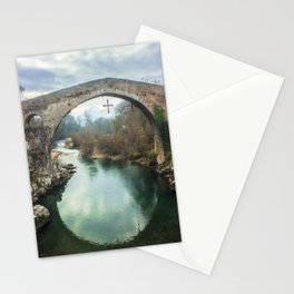 The hump-backed Roman Bridge Stationery Cards