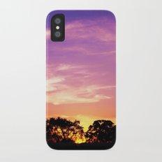 East Texas Sunset Slim Case iPhone X