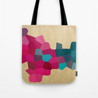 crystals Tote Bags featuring Crystals by Samantha Ranlet