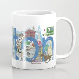 Boston - Cityscapes by Stephanie Hessler Coffee Mug