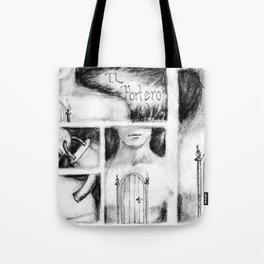 El Portero - Surreal Draw - Psychological Visual Story Tote Bag